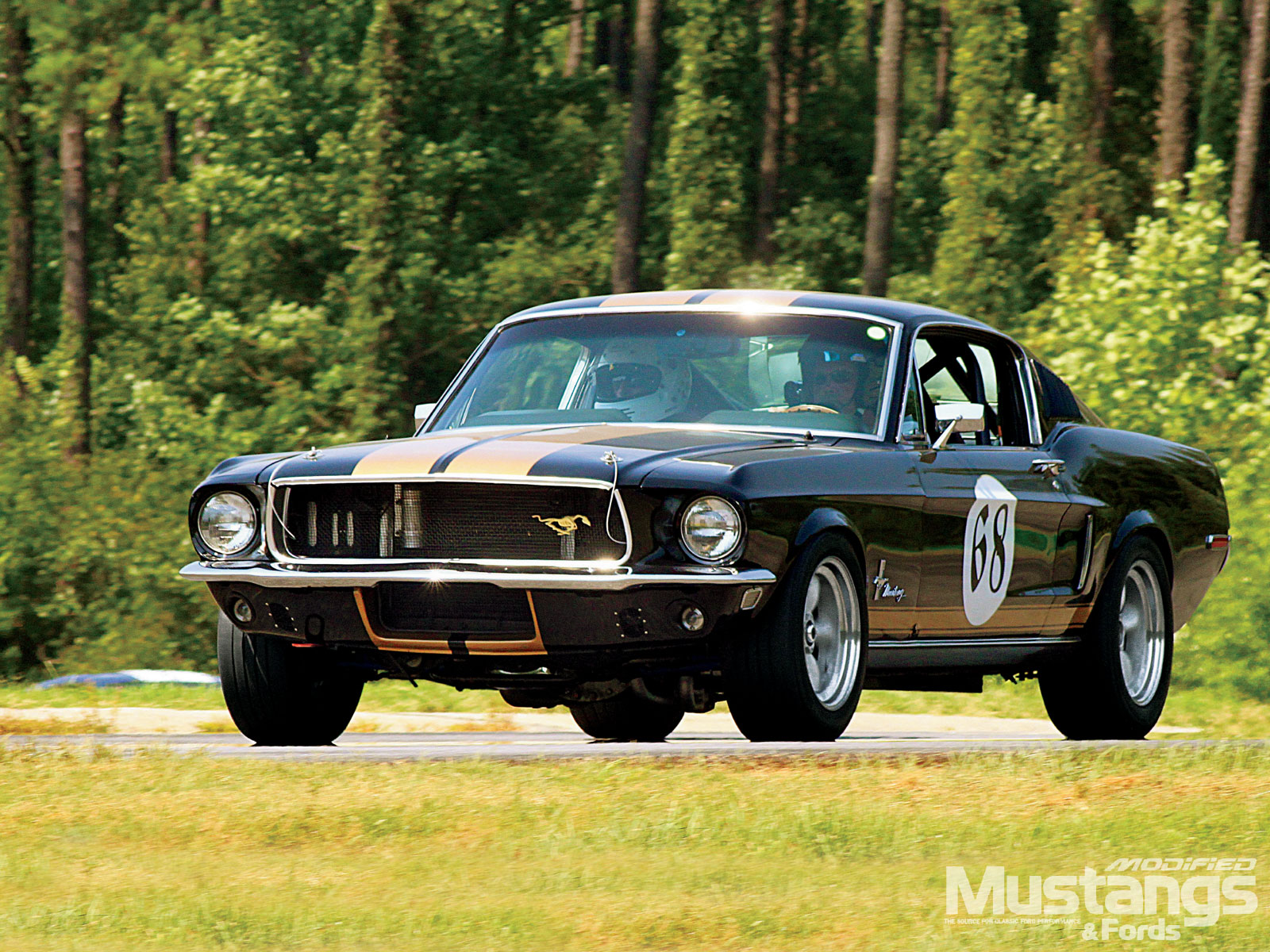 1968 Ford Mustang Gt Fastback Road Course