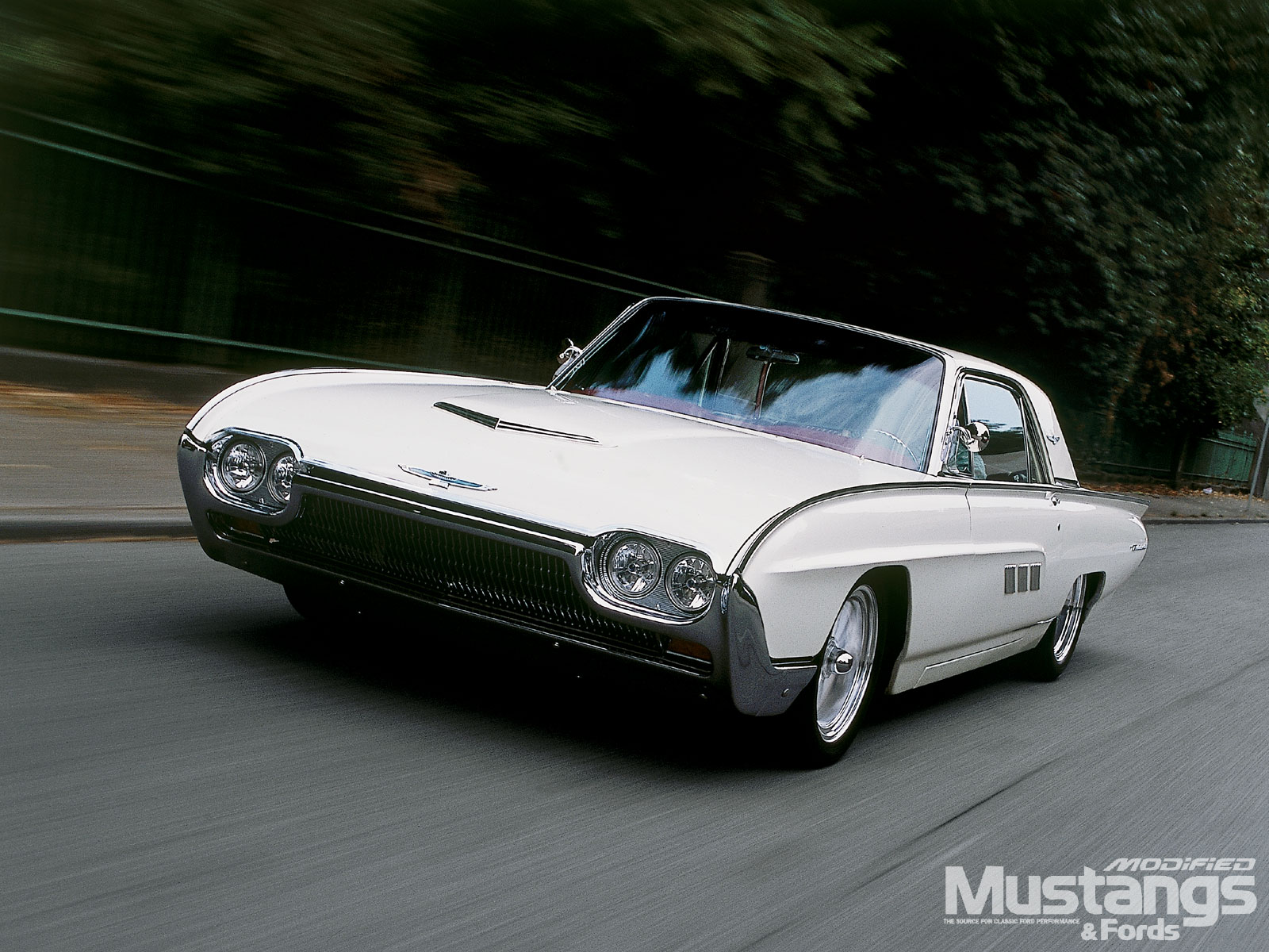 1963 Ford Thunderbird Driver Side Front Rolling View