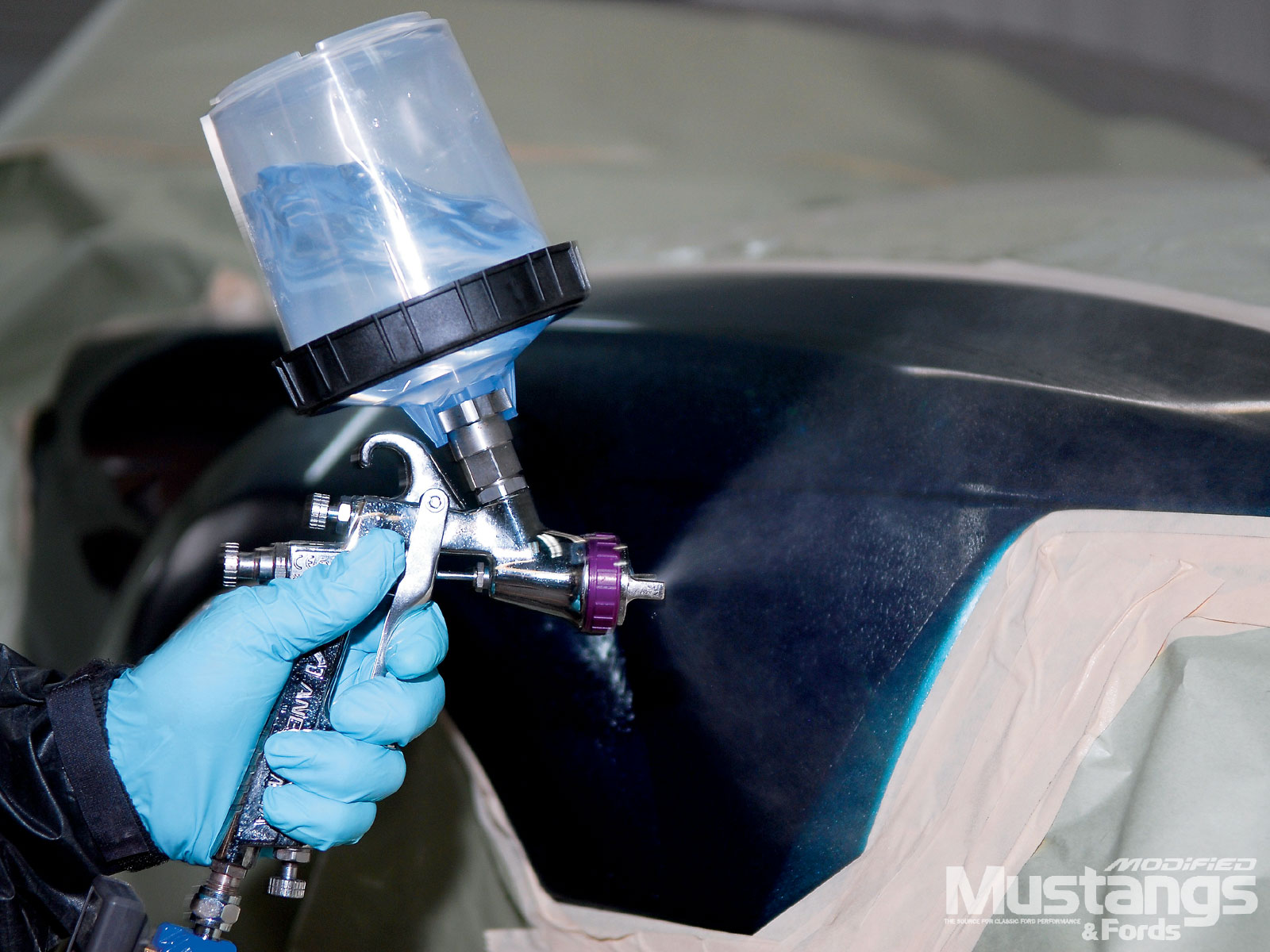 Autobody Refinishing Painting Paint Gun