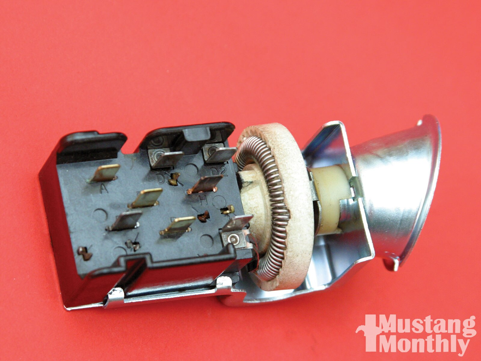 Mump 1104 11 O Inside Mustangs Etc Headlight Switch