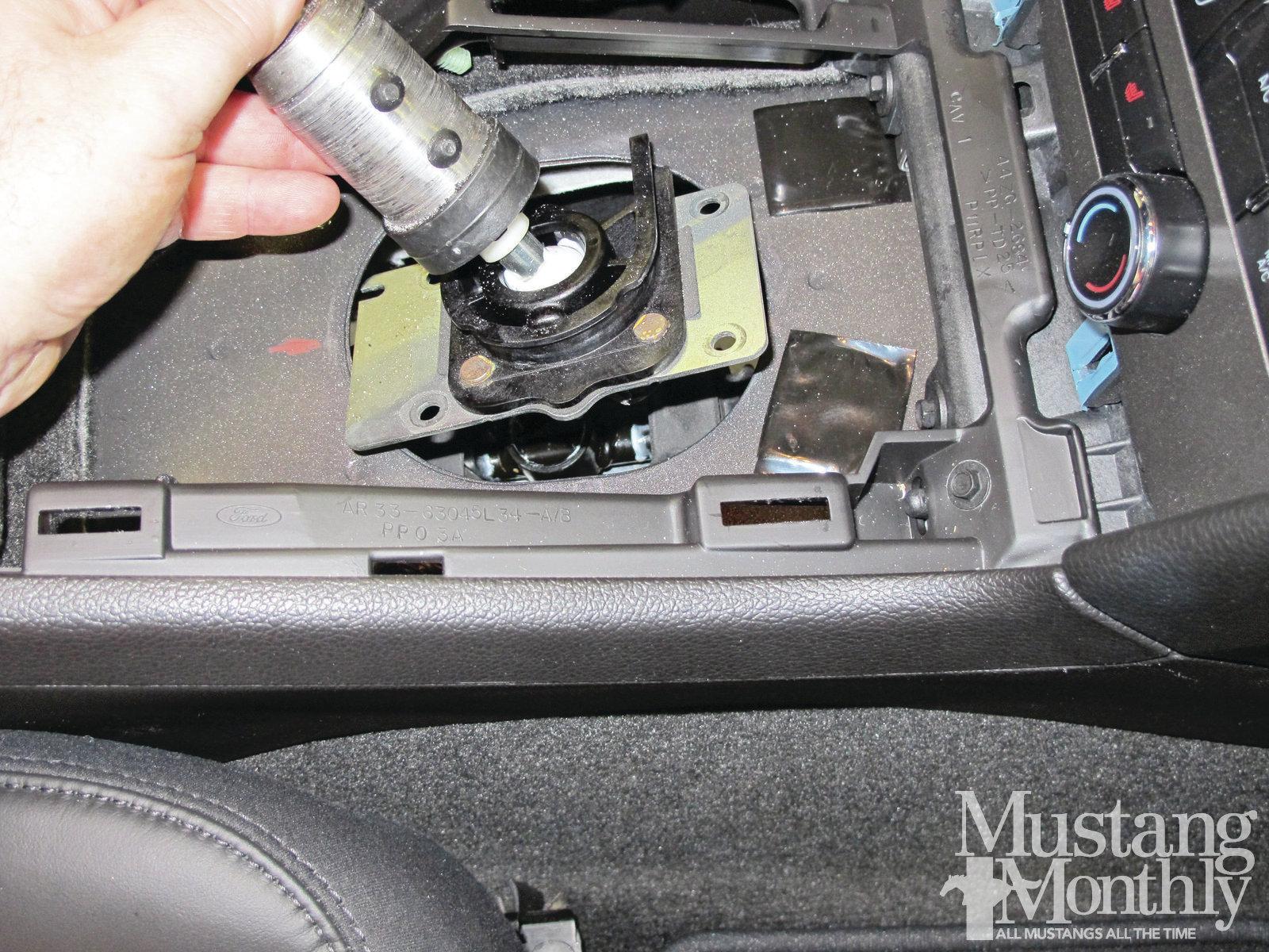Mump 1204 013 Installing A Steeda Tri Ax Shifter