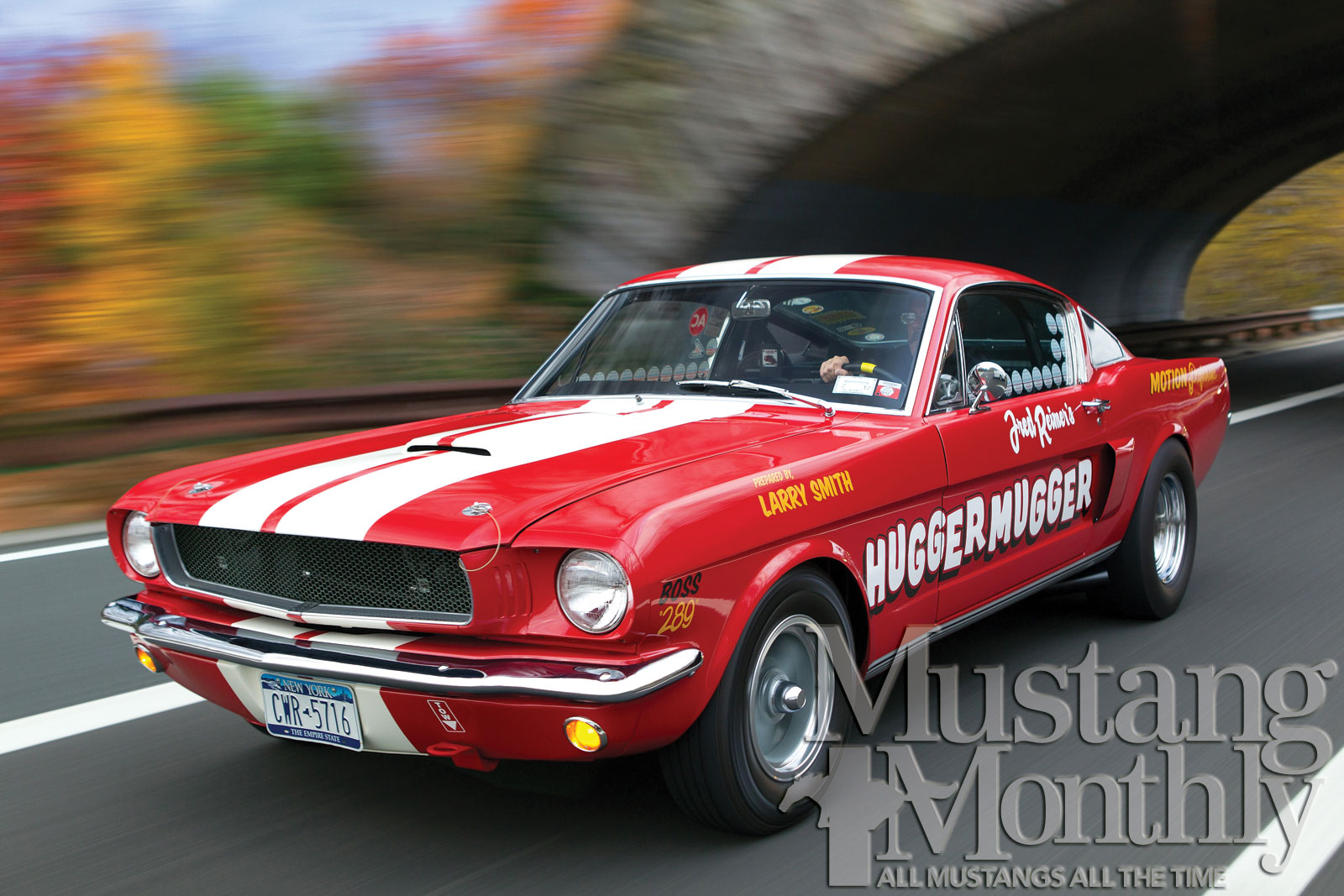 Mump 1205 000 1965 Fastback The Motion Mustang