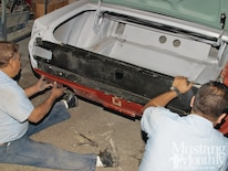 Mump 1110 How To Prep And Replace Sheetmetal Replace Quarterpanels And Tailpanels 000