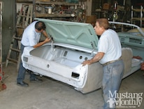 Mump 1110 How To Prep And Replace Sheetmetal Replace Quarterpanels And Tailpanels 003