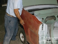 Mump 1110 How To Prep And Replace Sheetmetal Replace Quarterpanels And Tailpanels 018