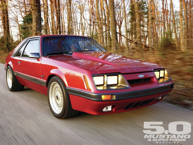1985 Ford Mustang Gt Warp Speed 5 0 Mustang Magazine