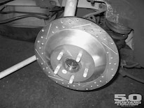 M5lp 0409 09 O Baer Brakes Eradispeed Brake Kit Hub Centric Rotor