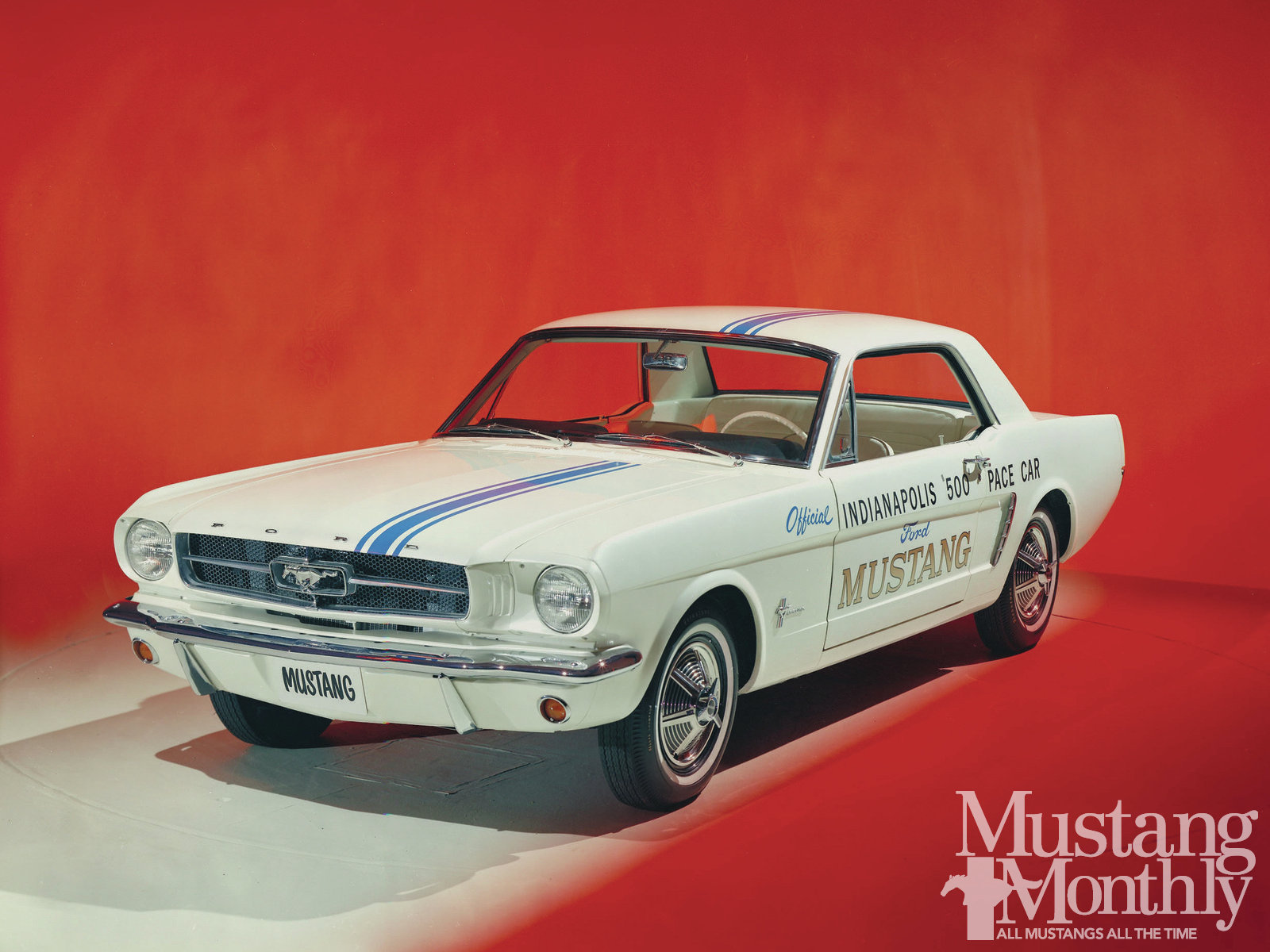 1965-1972 Mustang Chrome Stick on Letters Two Sets for Both Sides of Car