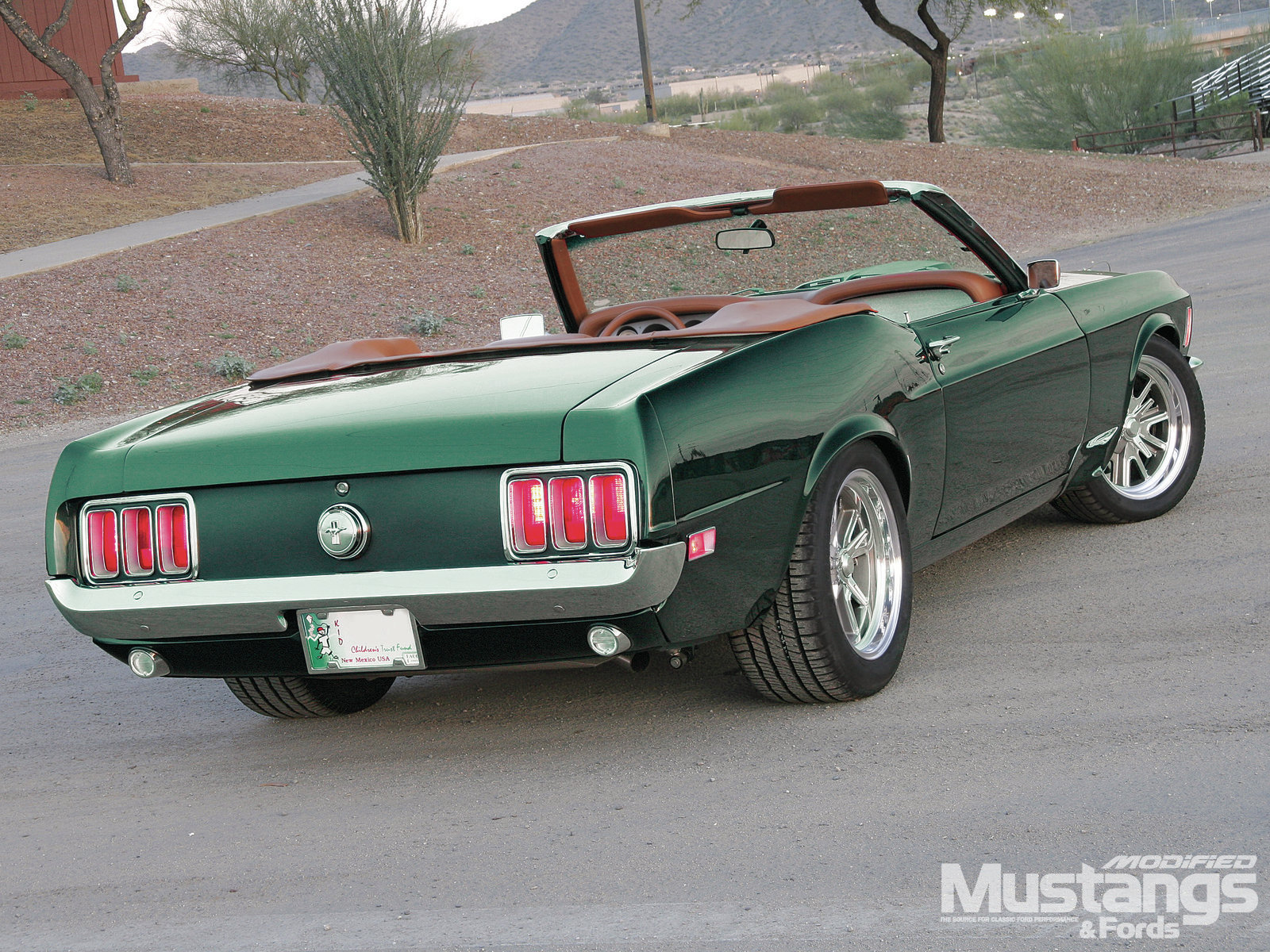 Mdmp 1202 1970 Ford Mustang Mean And Green 010