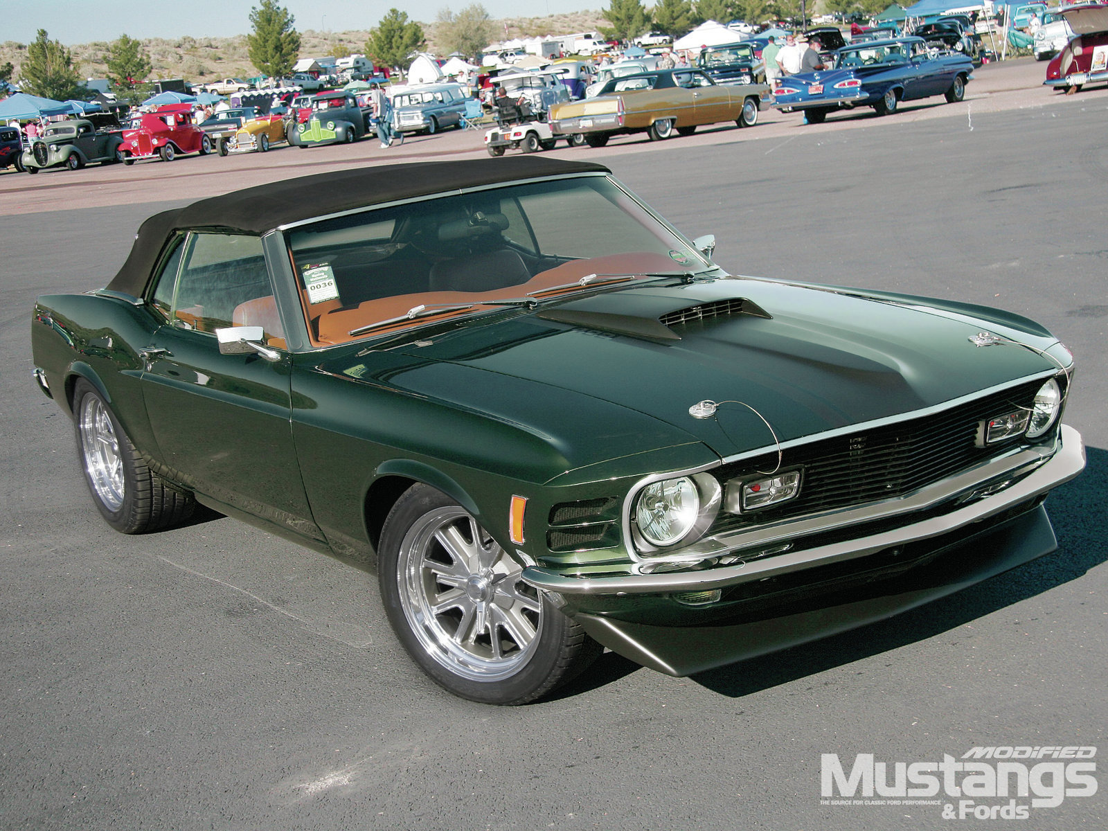 Mdmp 1202 1970 Ford Mustang Mean And Green 012