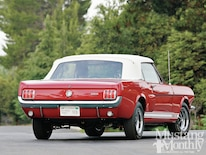 mump 1202 05 1966 Shelby Gt 350 Convertible The Ultimate Drop Top Rear View
