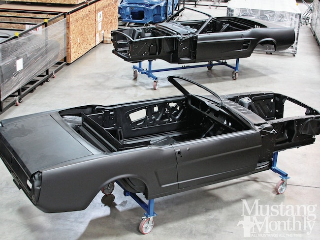 Mump 1203 012 000dynacon New Mustang Convertible Body Shells