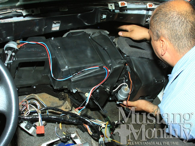 Mump 1210 01 How To Renew Climate Control Systems Fox Body Mustangs