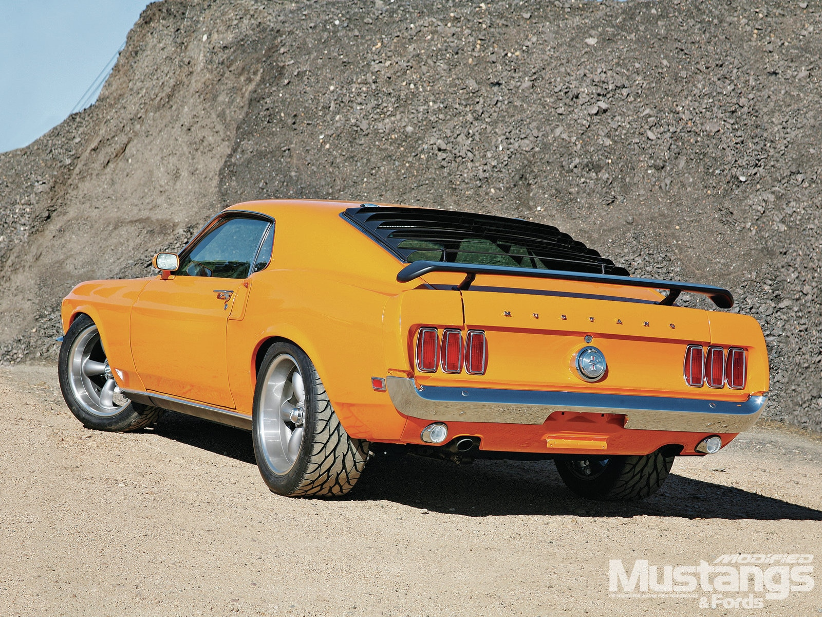 Mdmp 1206 003 1969 Mustang Mach 1 Always Grabber Orange