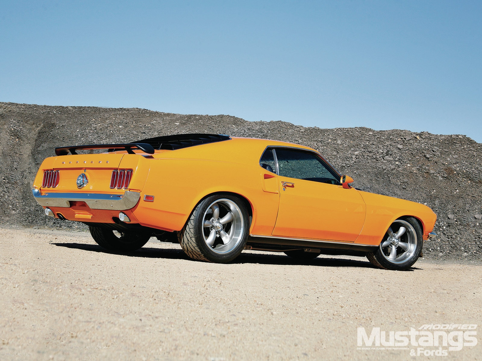 Mdmp 1206 007 1969 Mustang Mach 1 Always Grabber Orange