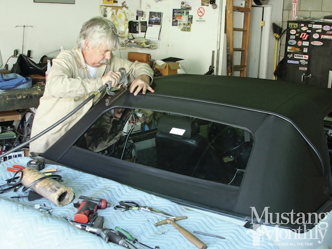 Mump 1206 000 Replace A Fox Body Convertible Top