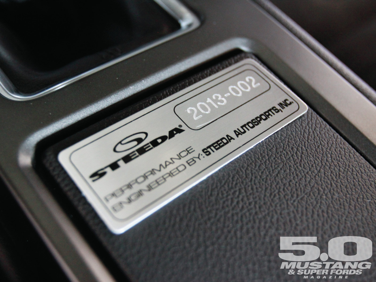 M5lp 1302 2013 Steeda Boss 302 LS Plate