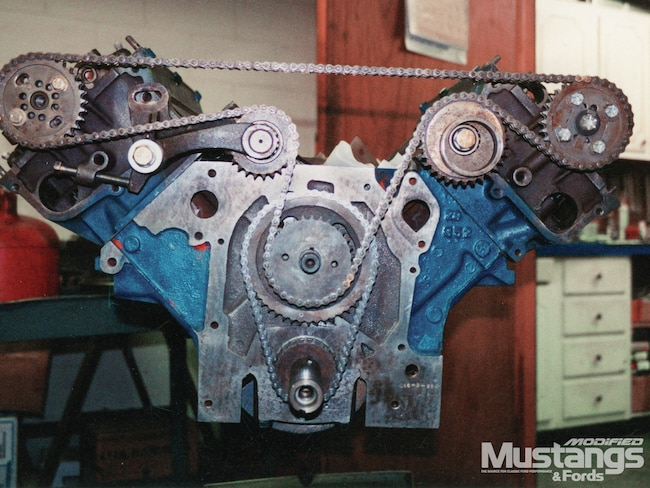 ford sohc 427 engine