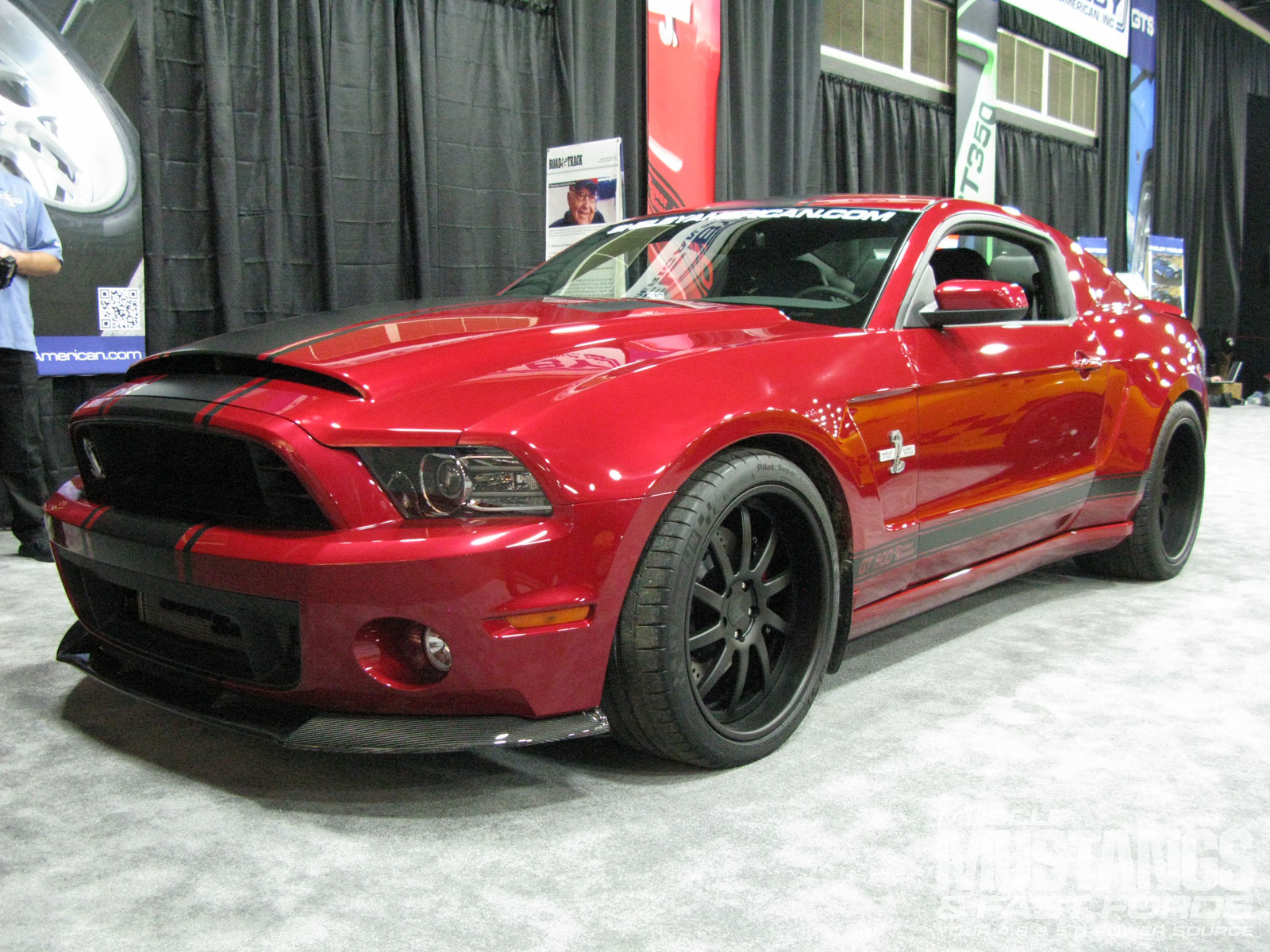 Mmfp 1301 15 2013 Shelby Gt500 Supersnake Widebody Front Three Quarter View