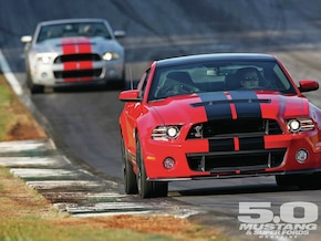 2013 Shelby GT500 Chassis Development - Total Package