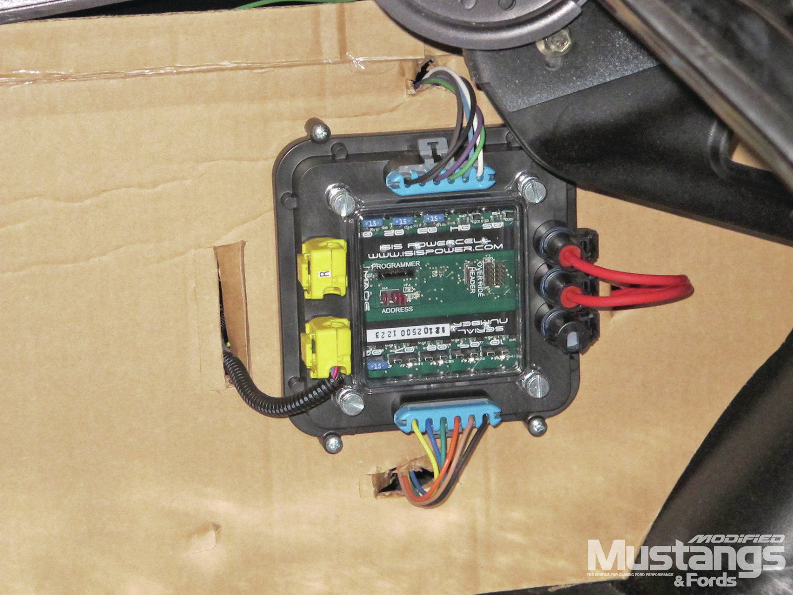 Isis Multiplex Wiring System Can Cable Rear Powercell
