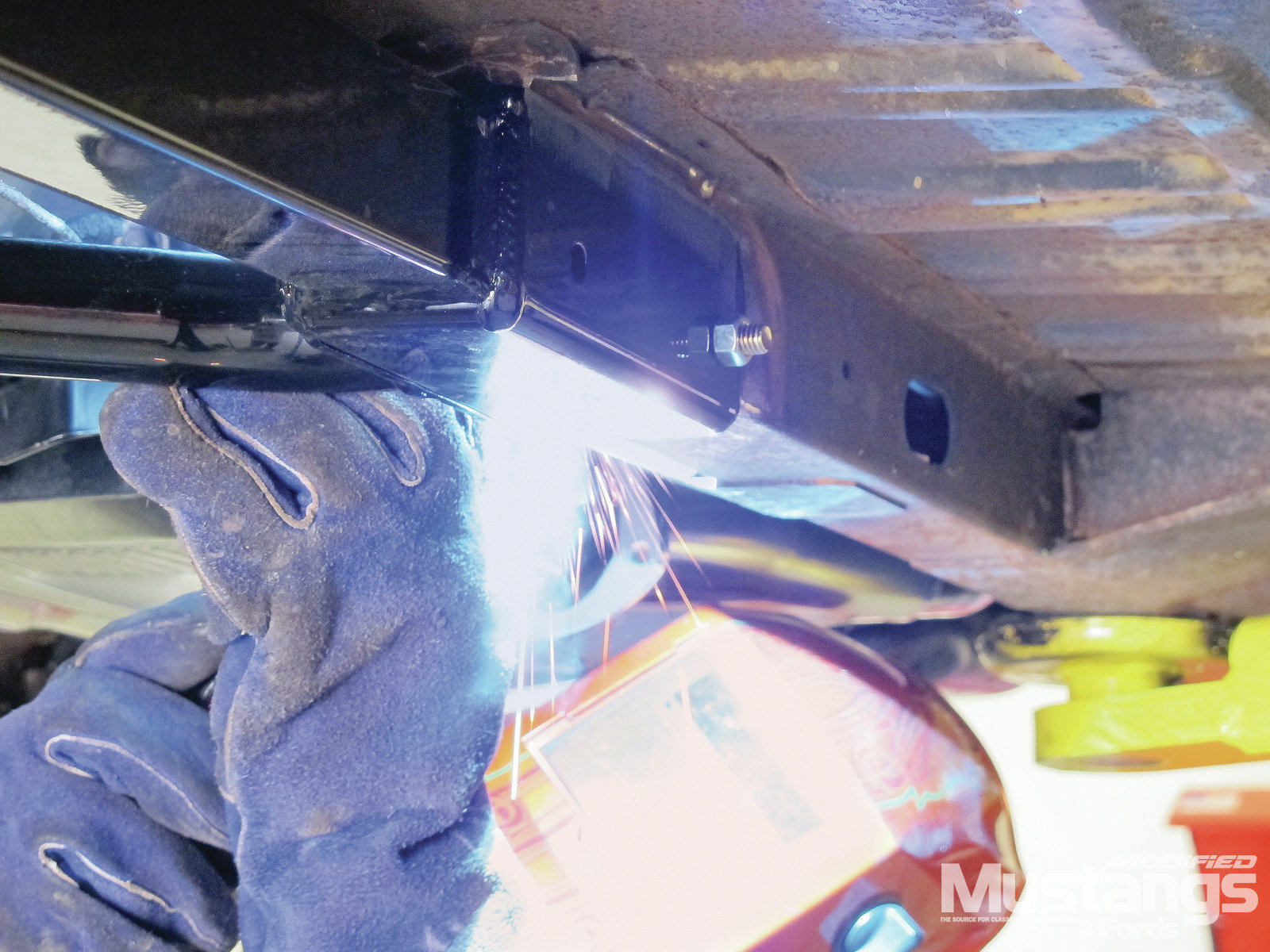 Total Control Products Leaf Spring Install Subframe Connector Welding