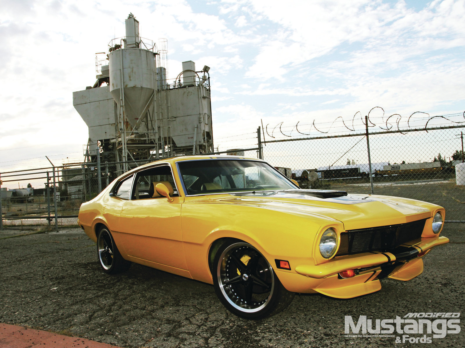 Mdmp 1210 01 1971 Ford Maverick Bumble Bee