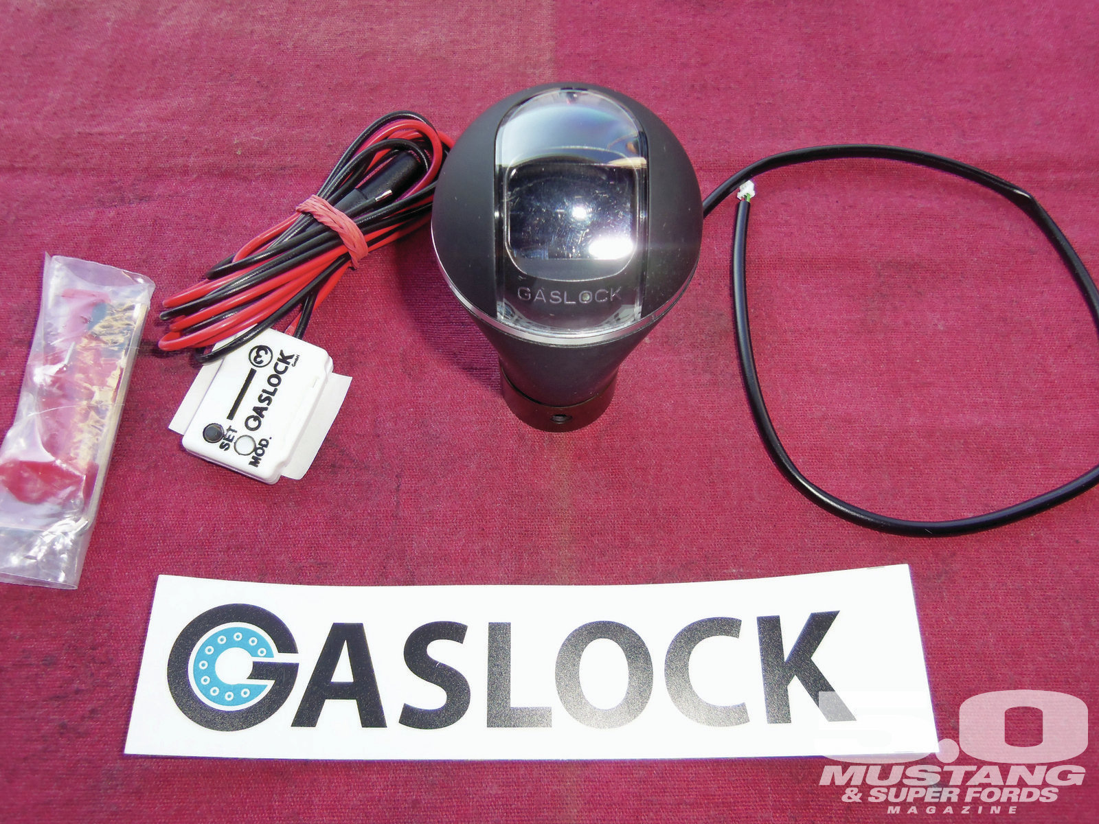 M5lp 1211 3 Tech Inspection Digital Shift Knob
