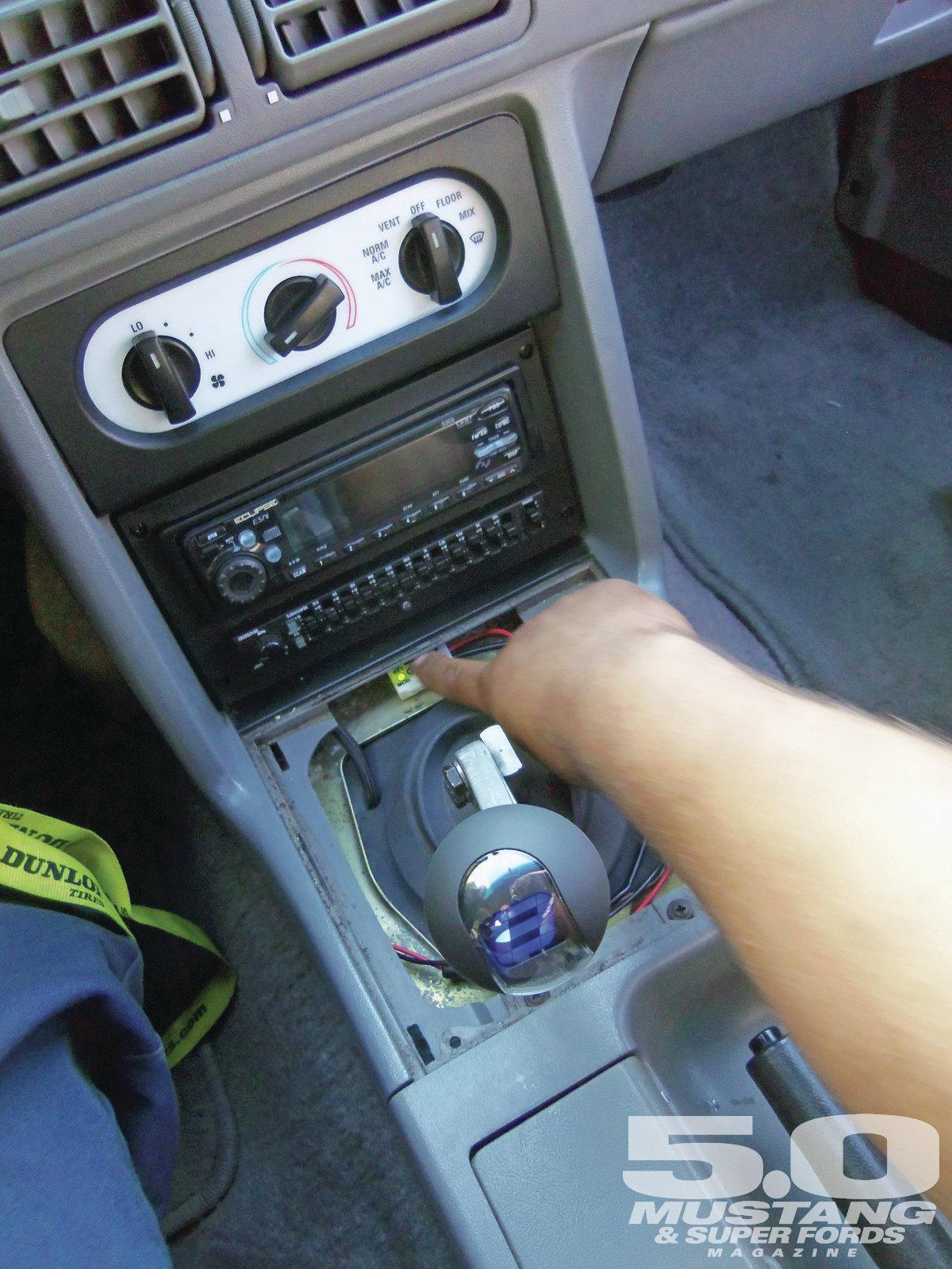 M5lp 1211 7 Tech Inspection Digital Shift Knob