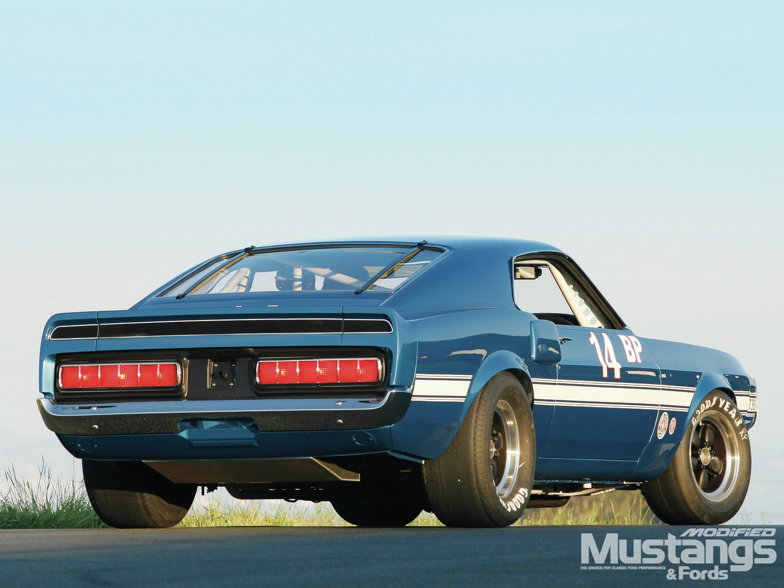 Mdmp 1301 04 1969 Ford Mustang Shelby Gt 500 Rear Three Quarter View