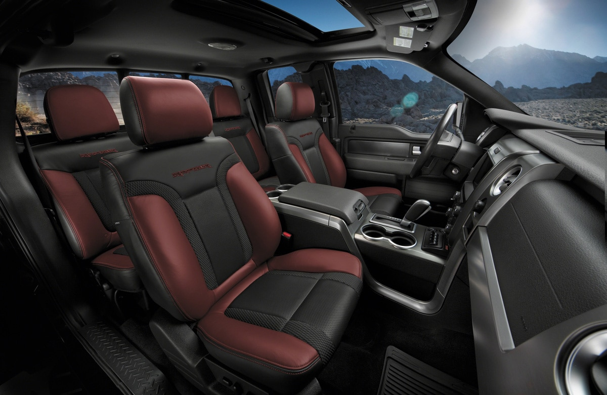 Ford Raptor Interior >> 2014 F 150 Svt Special Edition Ford Raptor Interior Seats