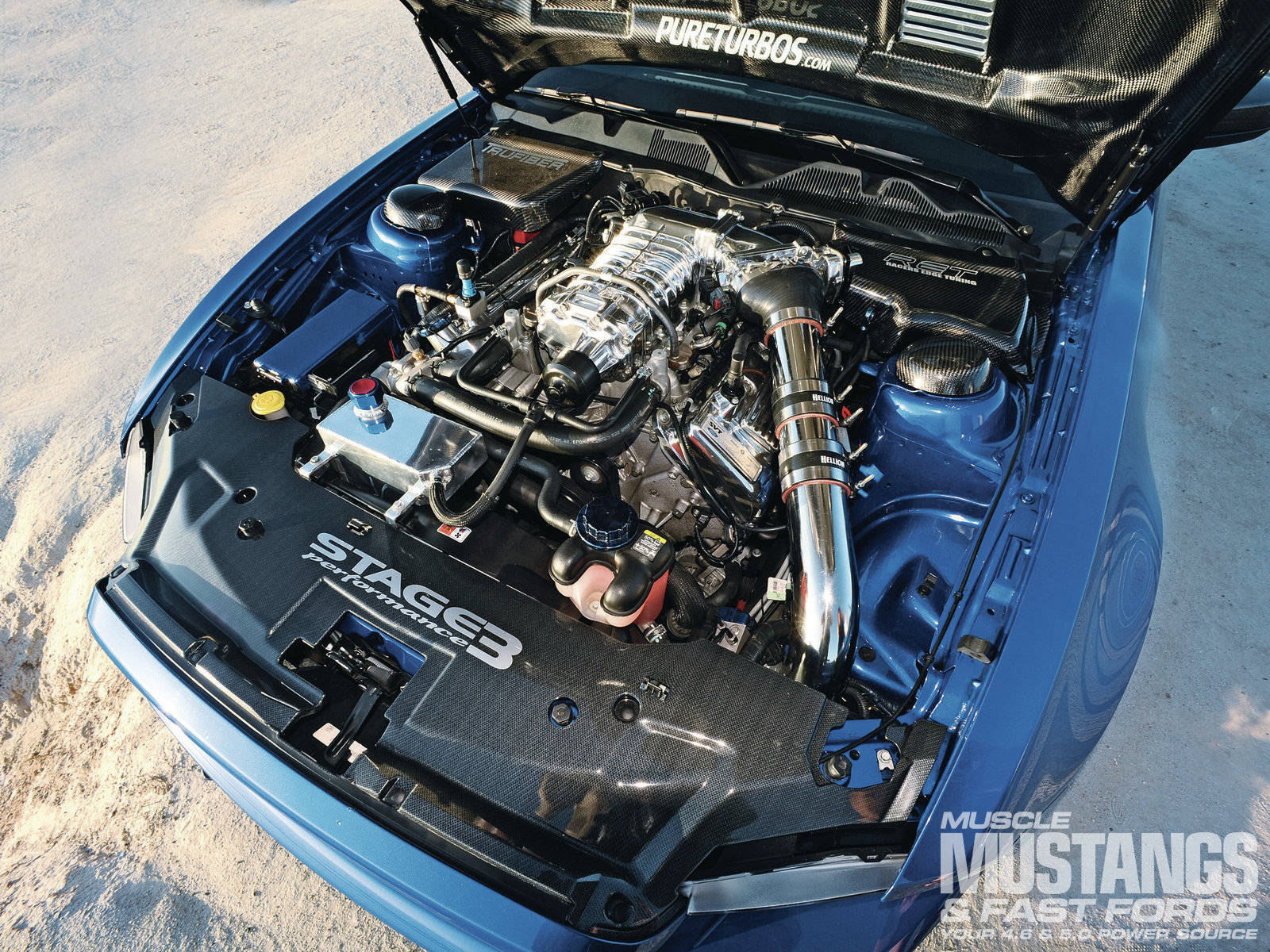 1306 2011 Ford Mustang Shelby Gt 500 Engine