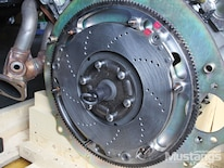 Mdmp 1306 10 Ford Racing 5 0l Coyote And Tremec T 56 Magnum Install Clutch Disc Installed_