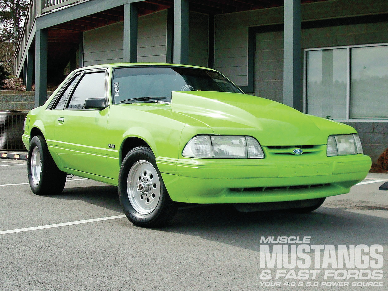 1983 Ford Mustang Lx Front View