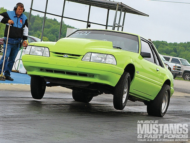 1983 Ford Mustang Lx Wheelie