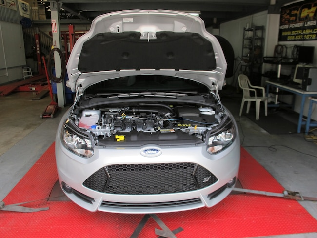 2013 Focus St Project Silver Lining Car On Dyno
