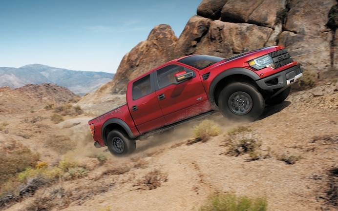 2014 F 150 SVT Special Edition Ford Raptor In Motion