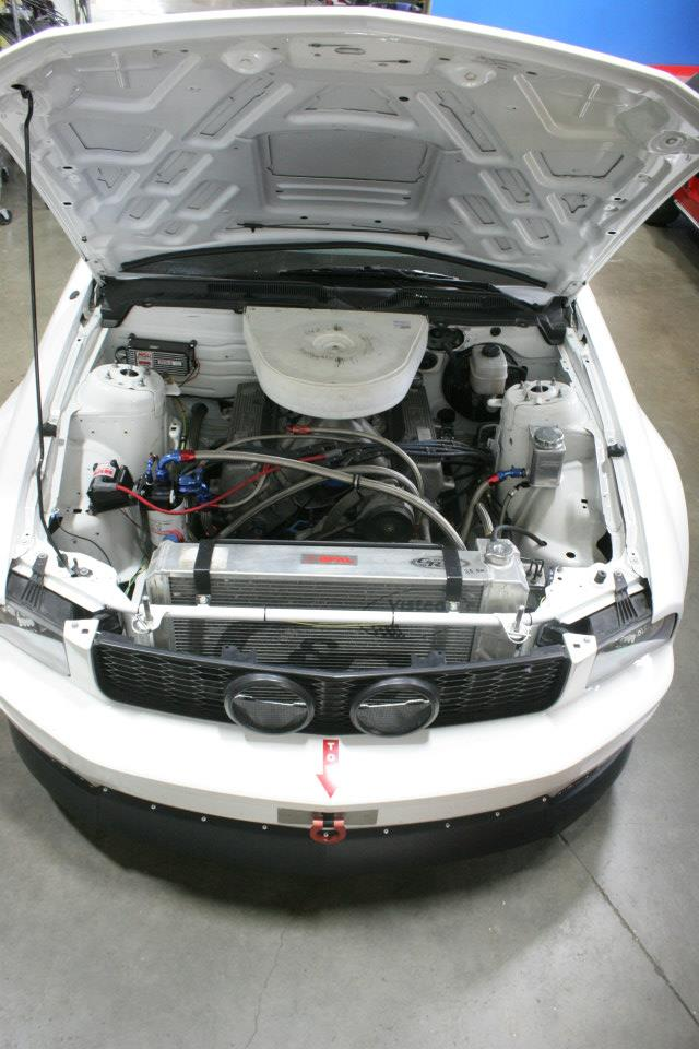 2008 Mustang Gt Nascar Engine Topview - Photo 53077677 ...