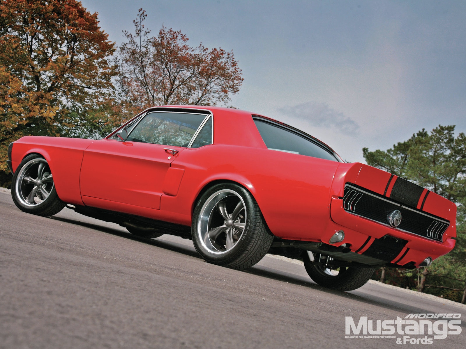 1968 Ford Mustang Coupe Rear Side