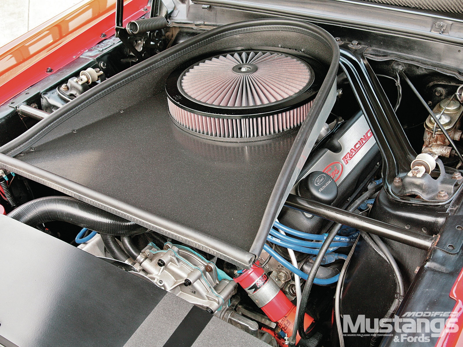 1968 Ford Mustang Coupe Engine