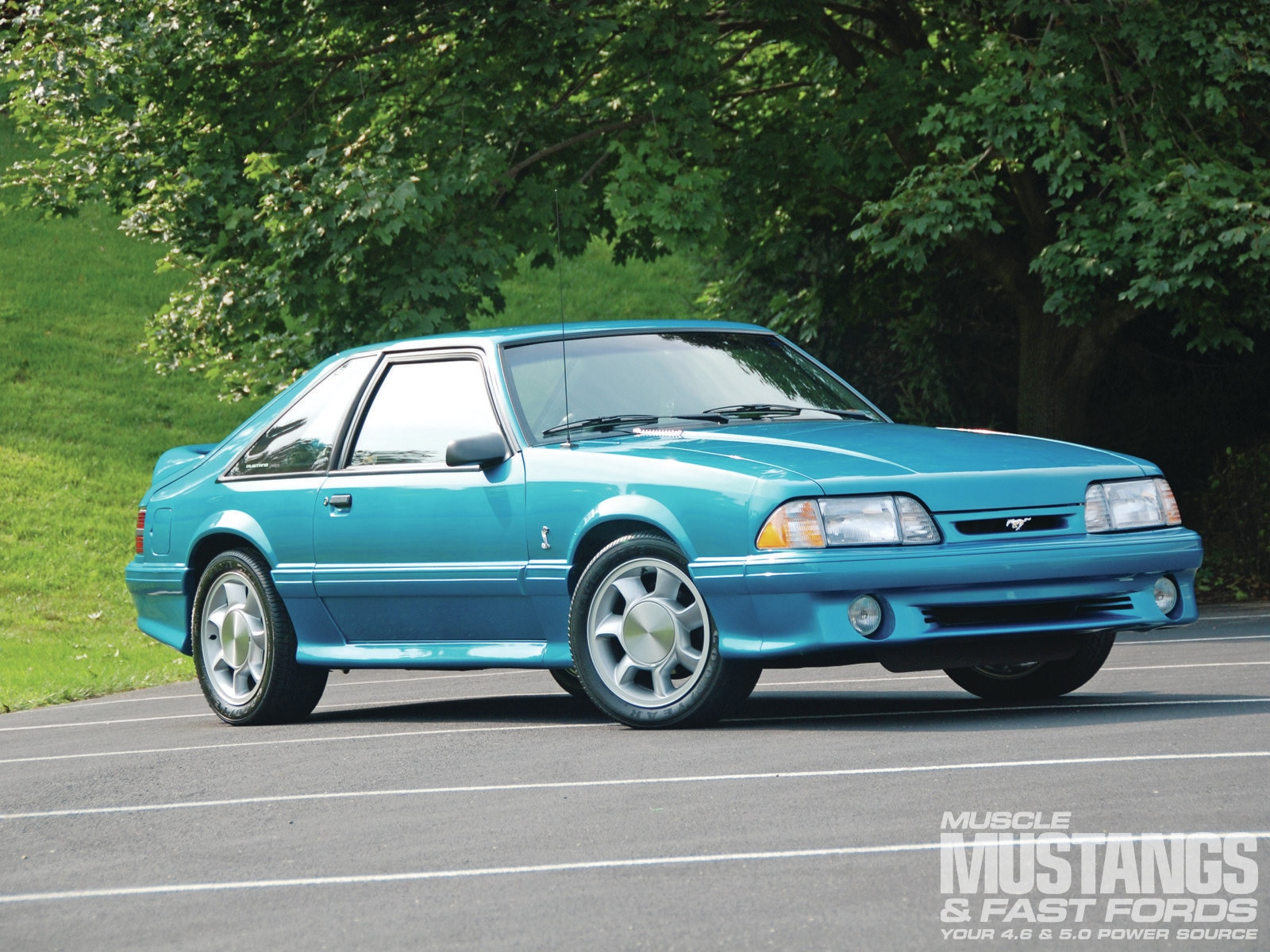 1993 Ford Mustang Cobra Front Three
