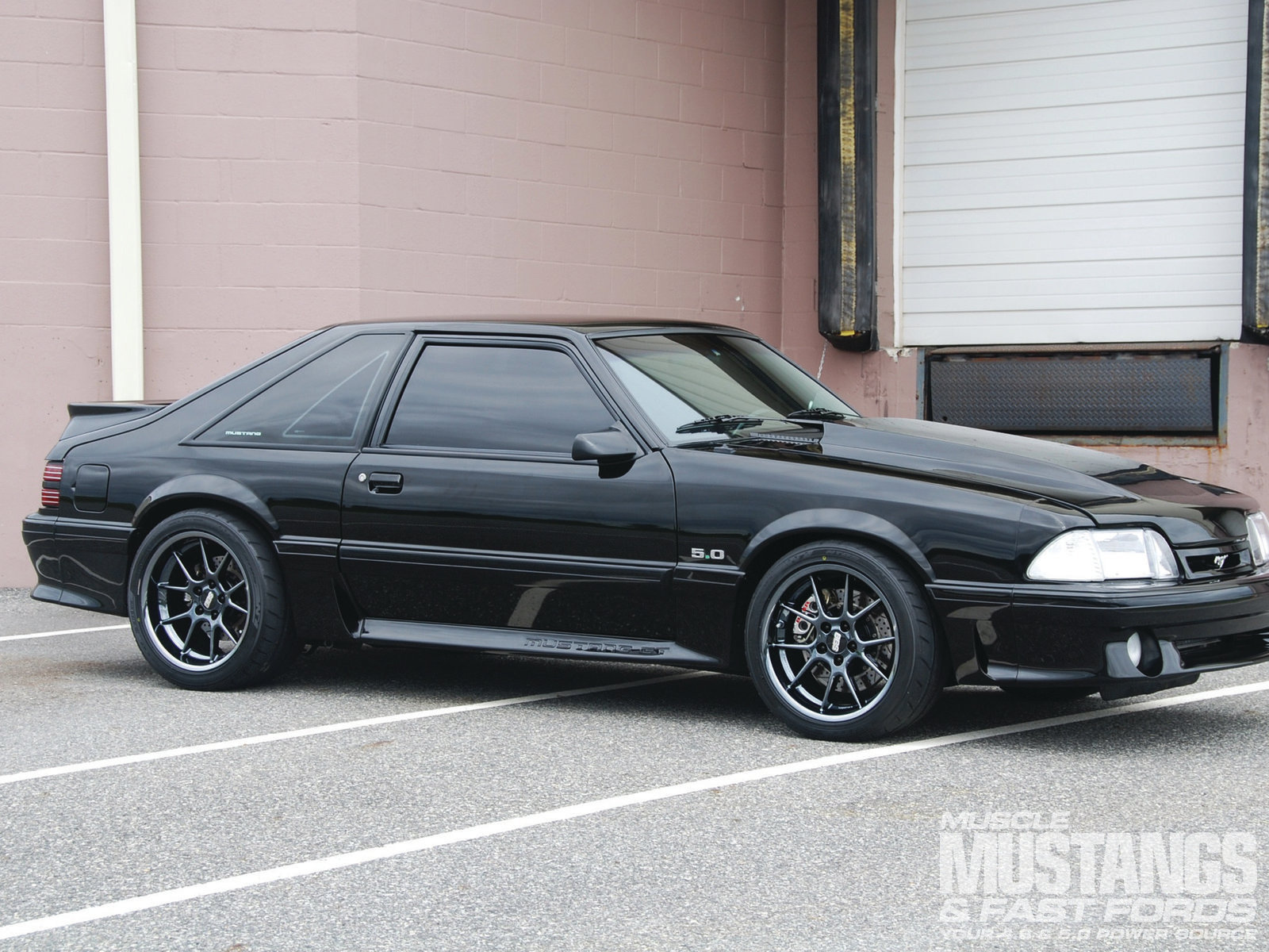 1993 Ford Mustang GT Front Three
