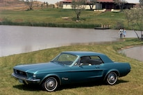 1968 Ford Mustang Coupe Blue