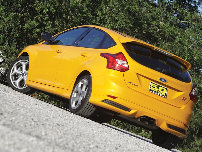 2013 Ford Focus St Rear View