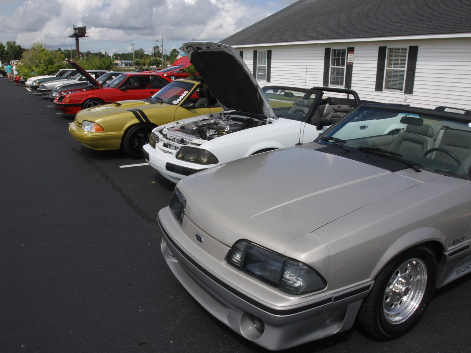 1308 Ford Mustang Fox Body Lineup2
