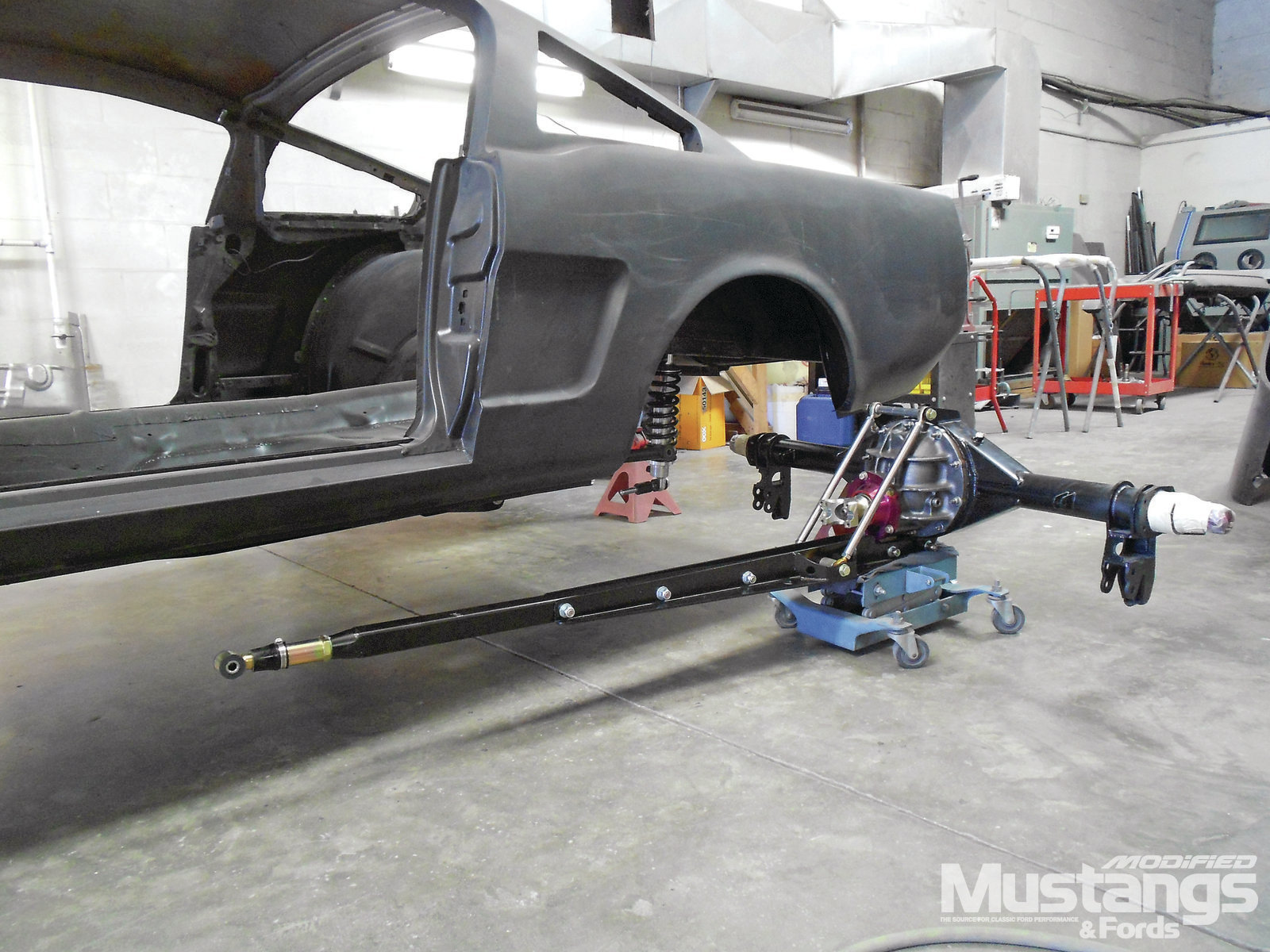 1307 Tci Engineering Stout Torque Arm Suspension Installation