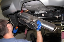 2013 Ford Focus St Remove Muffler
