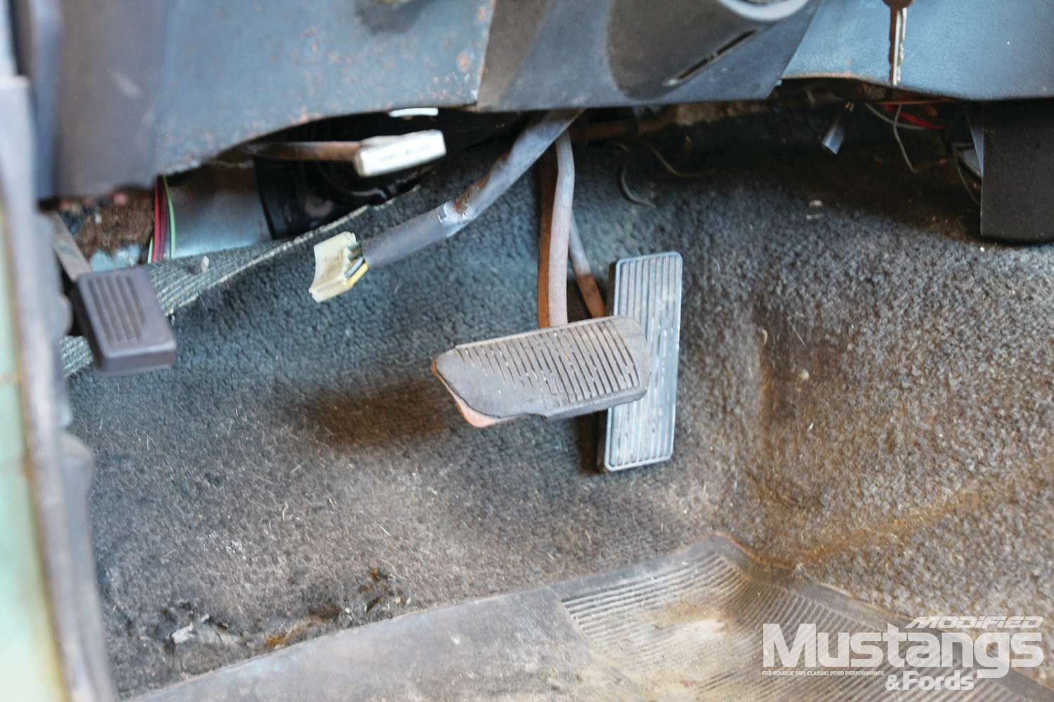 1969 Ford Mustang Sportsroof Brake