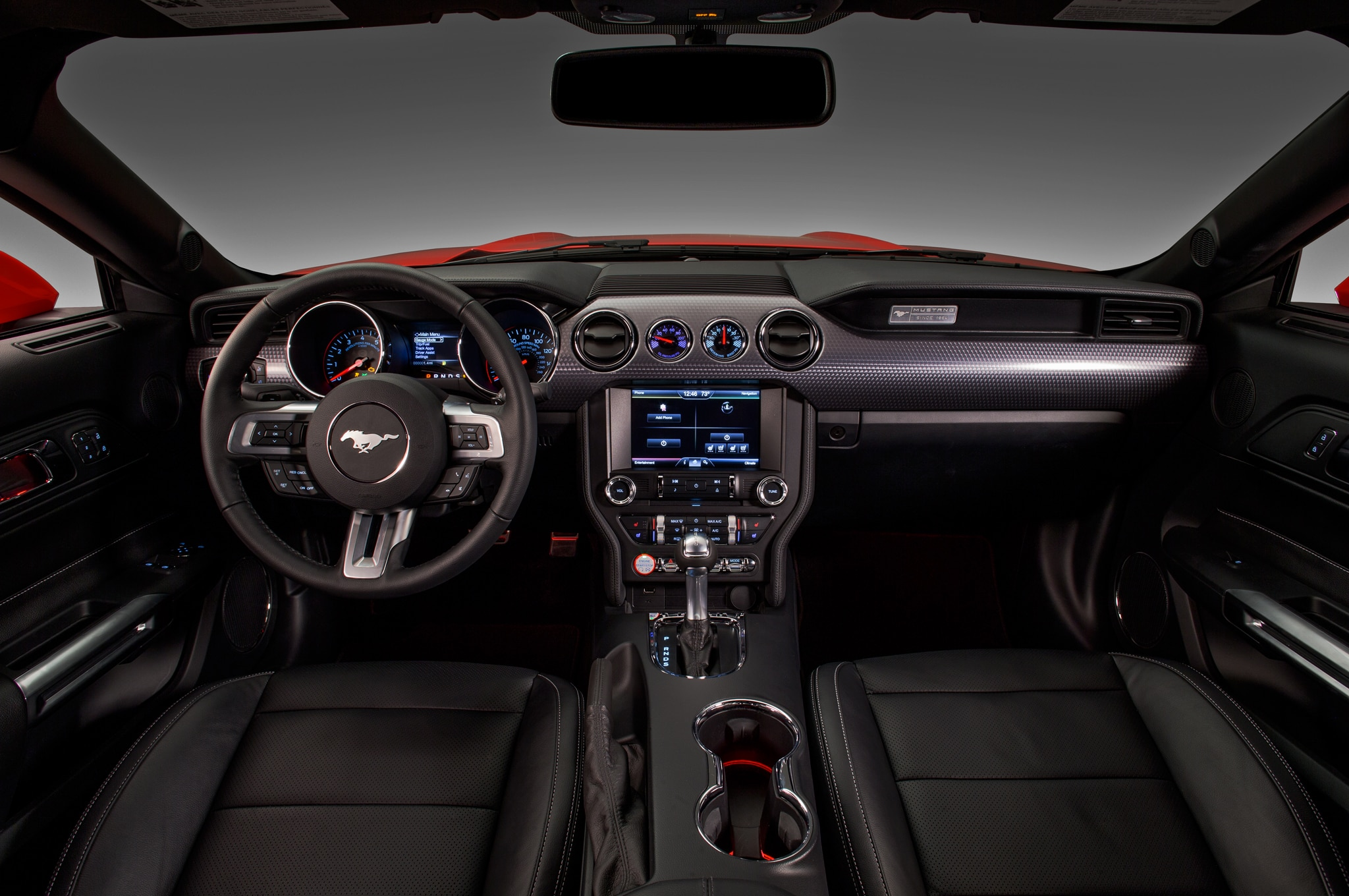 2017 Ford Mustang Dash