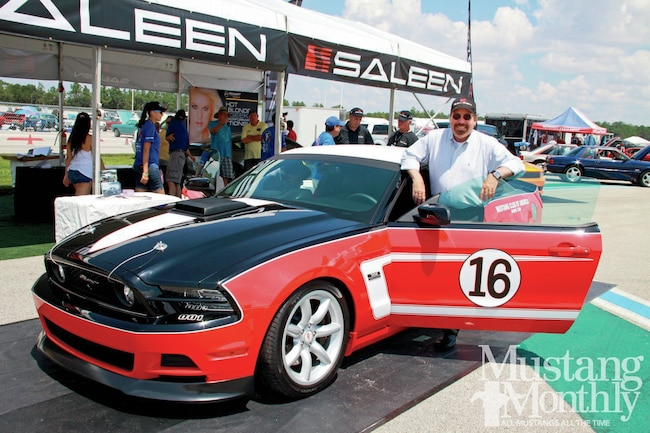 Saleen Mustang George Follmer Edition
